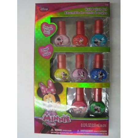 disney minnie mouse 10pc nail polish](Minnie Mouse Halloween Nail Art)