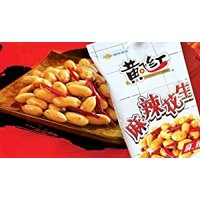 Huangfeihong Spicy Snack Peanuts - 3.8 Oz /110g (Pack of 2) by N/A [Foods]