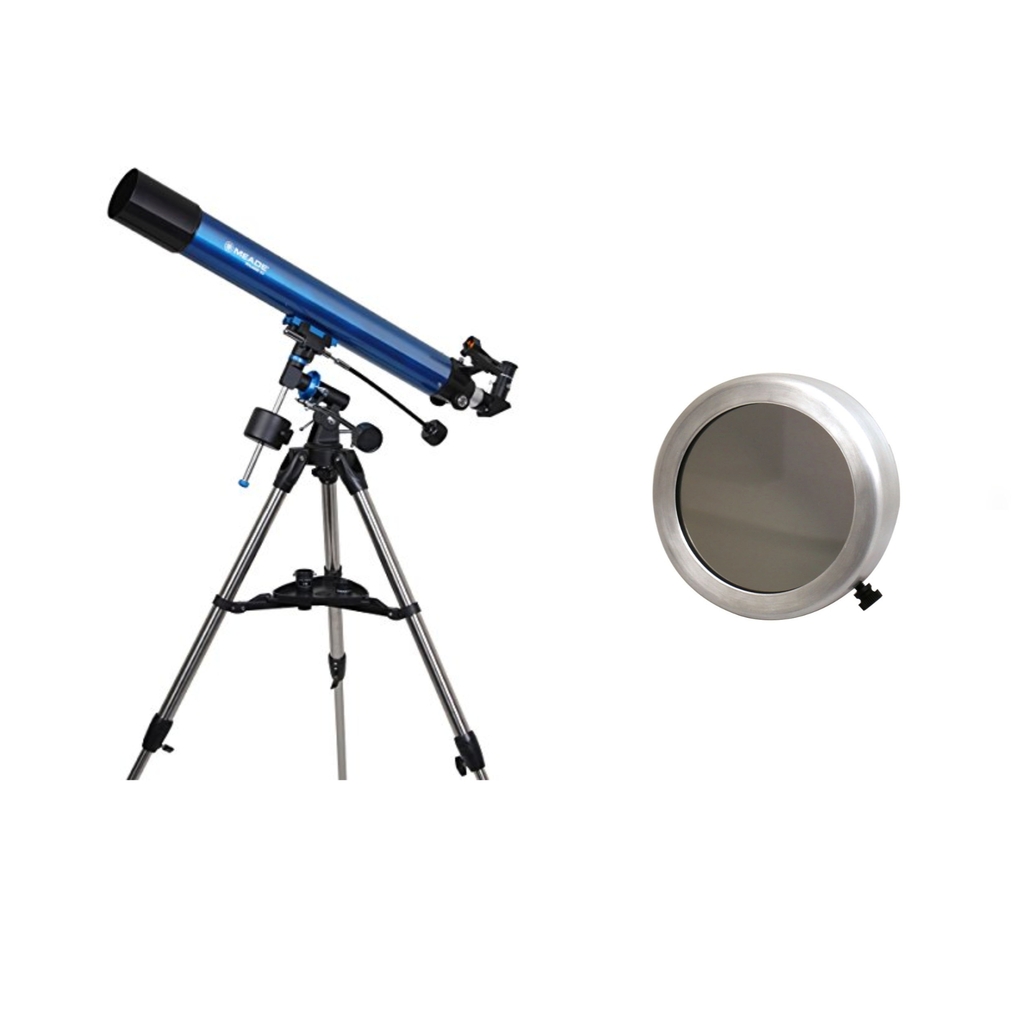 Meade EXT80 Observer Telescope Kit w/ #400 101mm Glass Wh...
