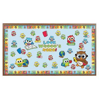 IN-62/9303 Welcome Back Owl Bulletin Board Set 1 Set(s) By Fun Express