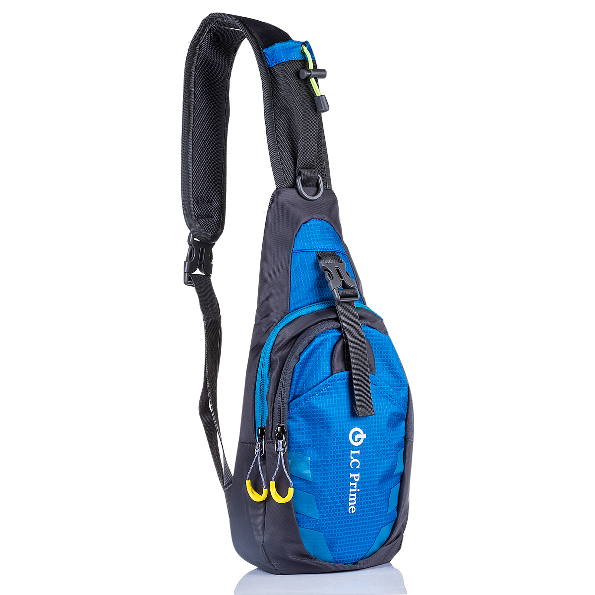 Sling Bag Chest Shoulder Unbalance Gym Fanny Backpack Sack Satchel Outdoor Bike by LC Prime