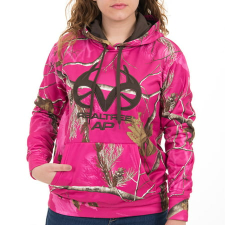 13f7fc1f698a Top Realtree and Mossy Oak Women s Performance Camo Pullover Hoodie VG74