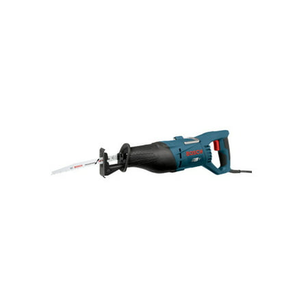 Bosch RS7 Corded Reciprocating Saw Kit with Keyless Blade Clamp, 120 V, 11 A, 1-1/8 in Stroke