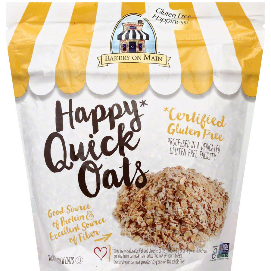 Bakery on Main Happy Quick Oats Cereal, 24 oz, (Pack of 4)