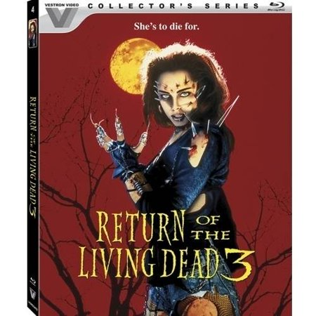 Return Of The Living Dead 3  Limited Edition   Collectors Series   Blu Ray   Widescreen