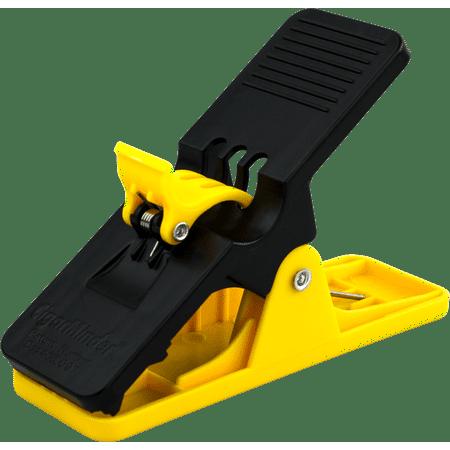 Golf Cigar Holder - Cigar Minder Clip - All Purpose Cigar Holder (Yellow)