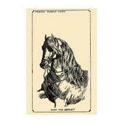 Hunt The Jockey Print (Unframed Paper Print 20x30)
