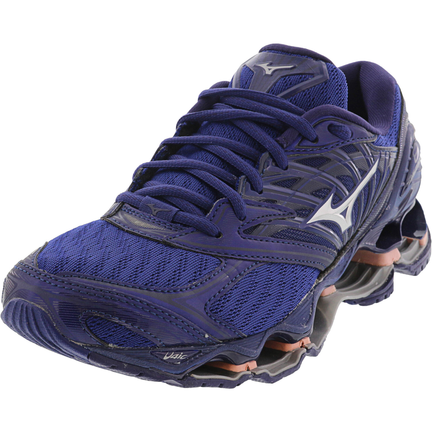 New Women/'s Mizuno Wave Prophecy 6 Running Shoes Size 8 Silver//Teal Last Pair