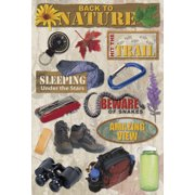 Cardstock Stickers-Back To Nature