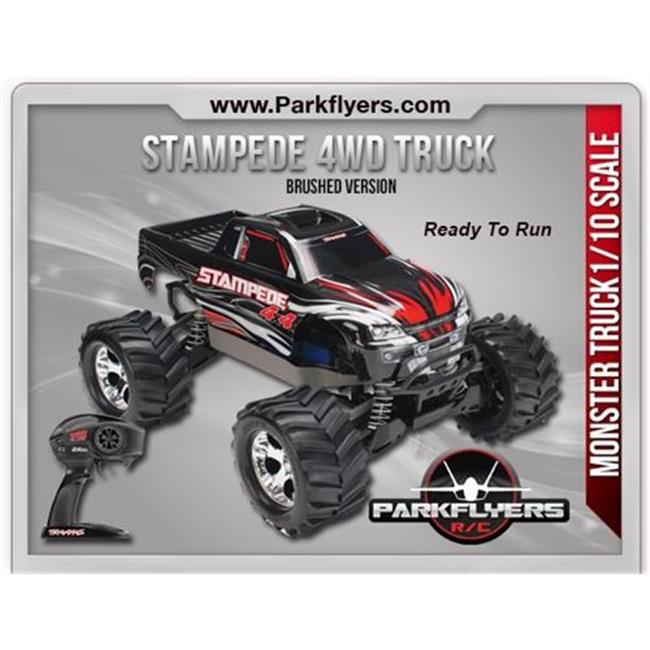 ParkFlyers 67054-1 Stampede 4WD Brushed RC Monster Truck