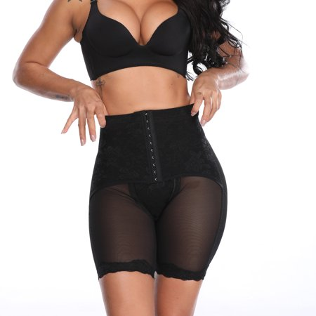 Women High Waisted Panties Butt Lifter Tummy Control Thigh Slimming Shapewear Waist Trainer Cinchers