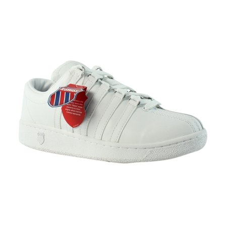 competitive price d6ea0 2495d K-SWISS Classic Lux White Tennis Womens Athletic Shoes Size 8 New