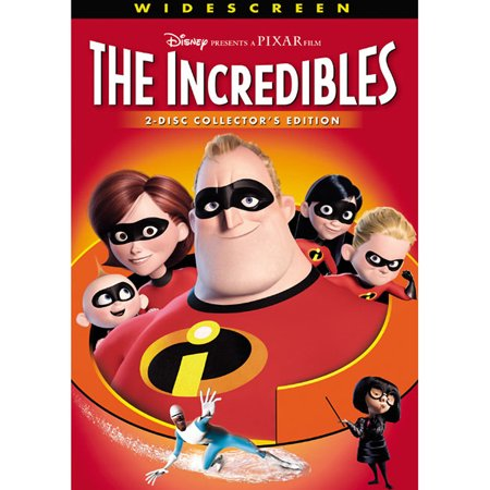 The Incredibles (2-Disc Collector's Edition) (DVD) (Disney Movies Halloween)