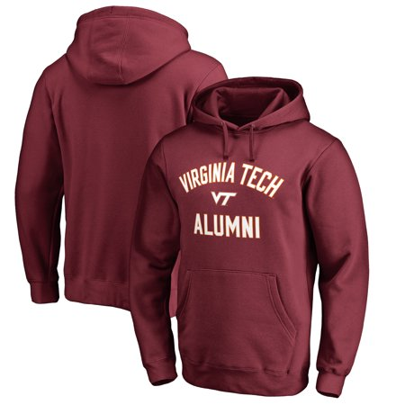 Virginia Tech Hokies Fanatics Branded Team Alumni Pullover Hoodie - Maroon