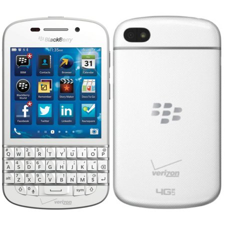 NEW NIB Blackberry Q10 WHITE Verizon 4G LTE 16GB Qwerty UNLOCKED Smartphone