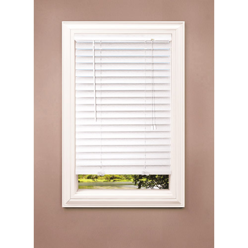 "Richfield Studios 2"" Room-Darkening Blinds, White"