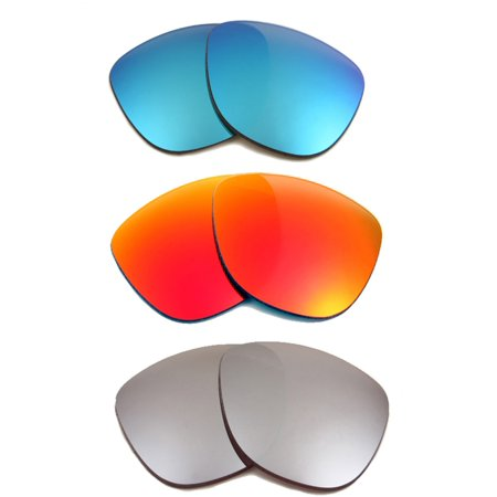 68f4764ceea FROGSKINS Replacement Lenses Polarized Blue Red   Silver by SEEK fits OAKLEY  - Walmart.com