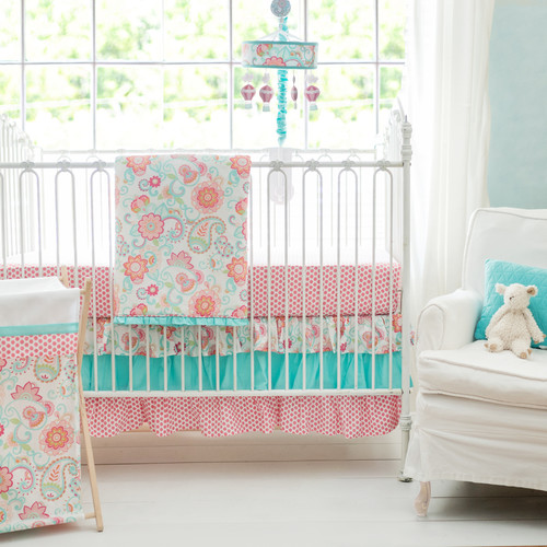 My Baby Sam Gypsy Baby 3 Piece Crib Bedding Set