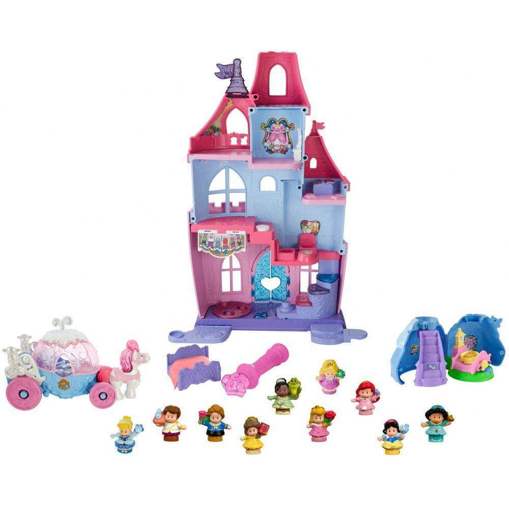 Fisher-Price Little People Disney Princess Royal Ball Castle Gift Set
