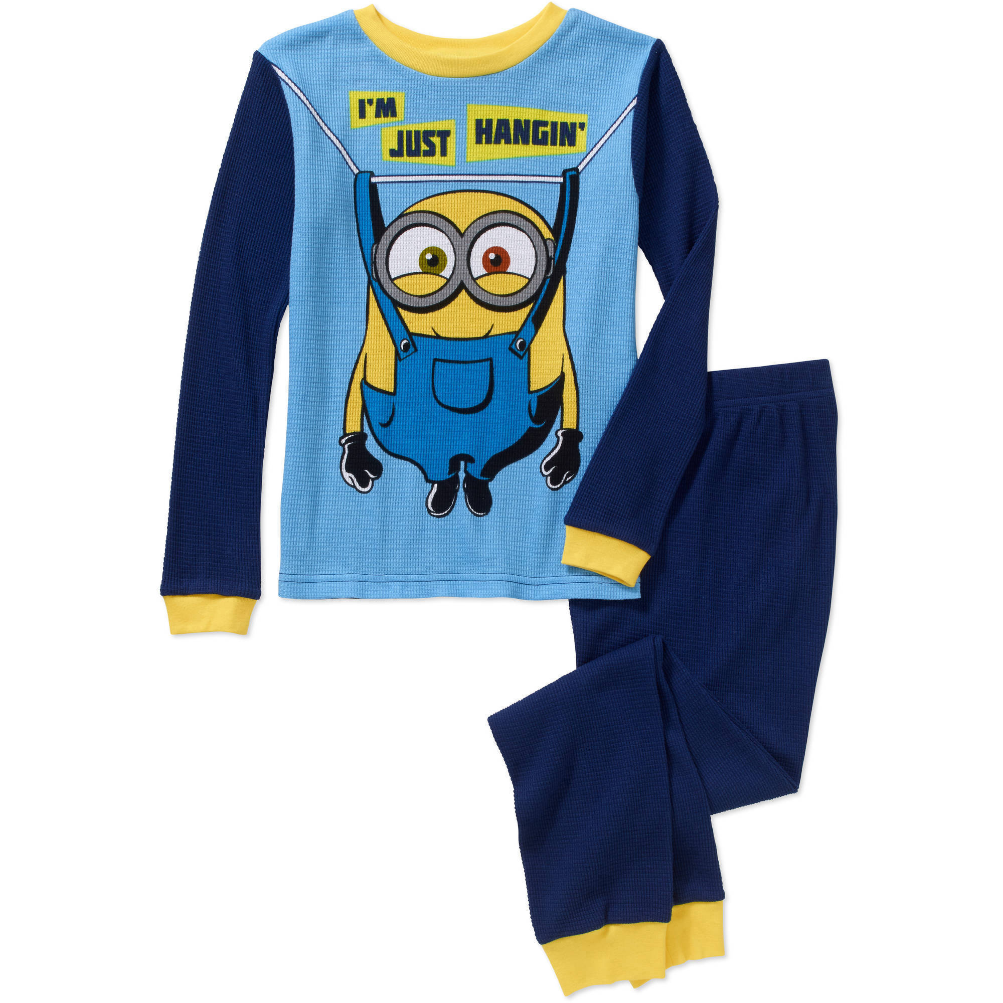 Boys' Licensed 2 Piece Cotton Thermal Set, Available in 3 Characters