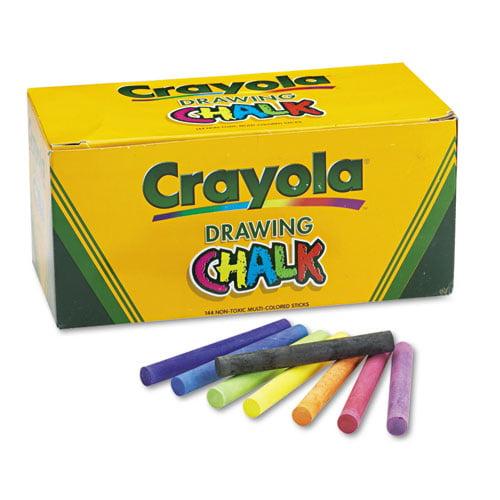 144 Pkg Crayola Drawing Chalk by Crayola