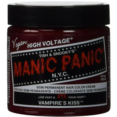 Manic Panic Classic Cream Vampire's Kiss Semi-Permanent Formula Hair Dye, Red 4