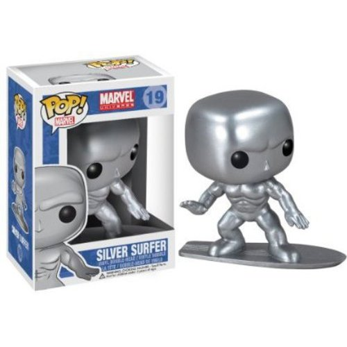 Funko Pop! Marvel Silver Surfer Vinyl Bobble Head