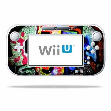 Skin Decal Wrap for Nintendo Wii U GamePad Controller Loud Graffiti