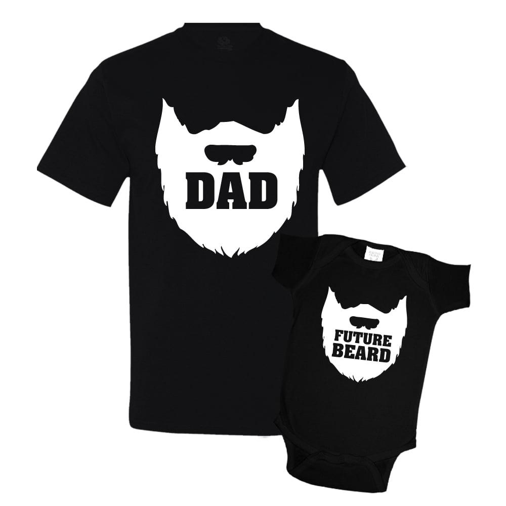 minty tees  dad beard and future beard matching father