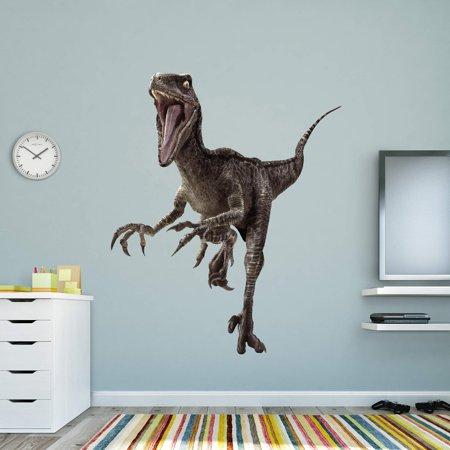 Fathead Jurassic World Velociraptor Wall Decal Walmartcom - Jurassic world wall decals