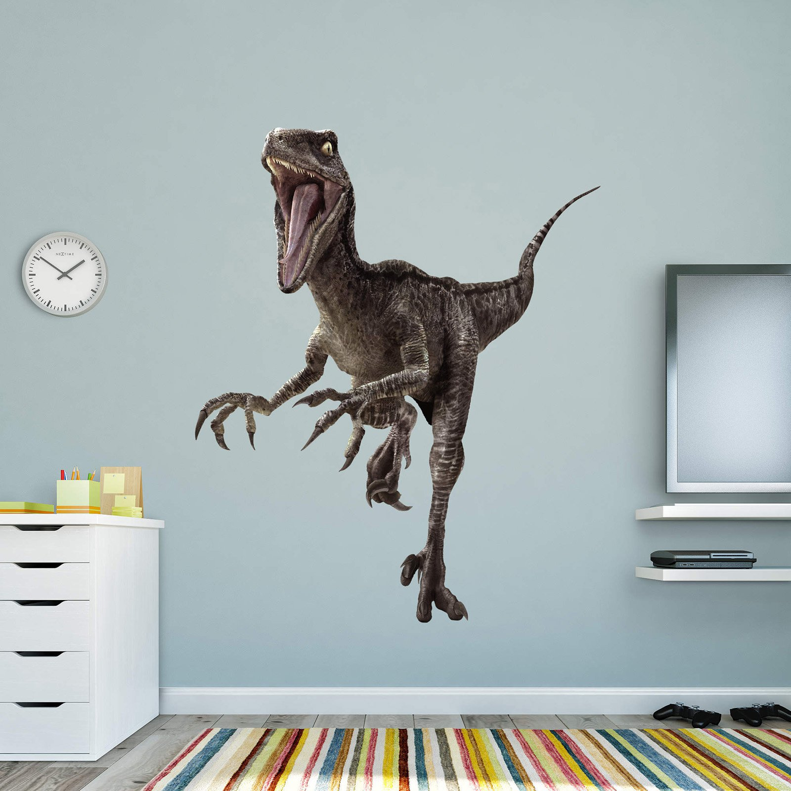 Fathead Jurassic World Velociraptor Wall Decal