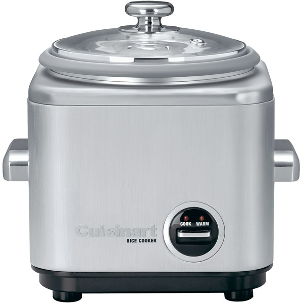 4-Cup Stainless Steel Rice Cooker