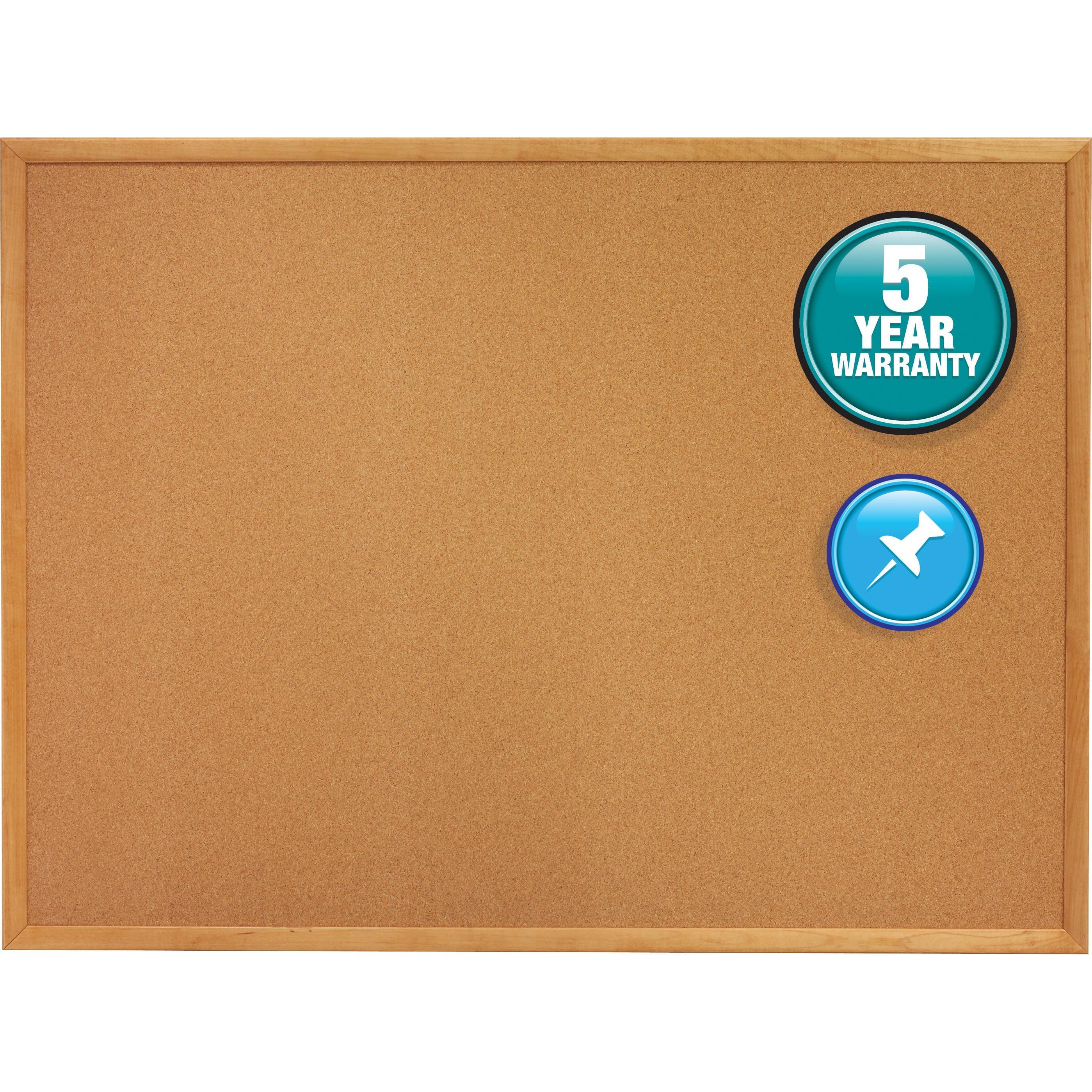 Quartet, QRT305, Oak Frame Bulletin Boards, 1 / Each