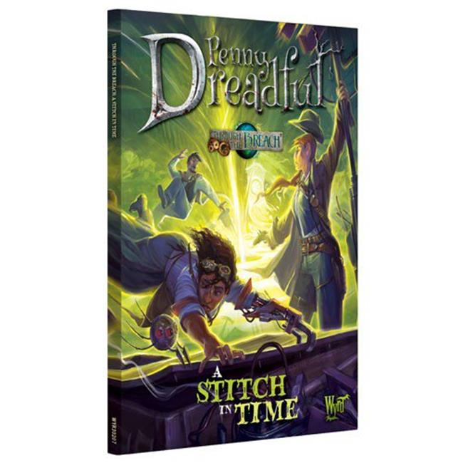 Wyrd Miniatures WYR30207 Through the Breach Penny Dreadful a Stitch in Time Role Playing Book - image 1 de 1