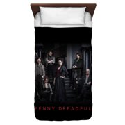 Penny Dreadful Stair Cast Twin Duvet Cover White 68X88