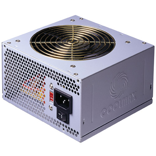 Coolmax V-500 Series 500W 120mm ATX Power Supply