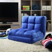 Loungie Microsuede Modern Flip Convertible Chair