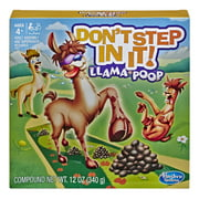 Don't Step In It! Llama Poop Game, for Kids 4+ - Walmart Exclusive