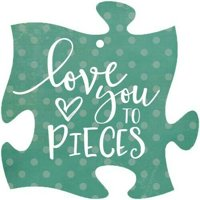 Love You To Pieces, Gift Tag