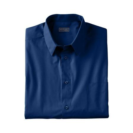Ks Signature Men's Big & Tall No Hassle Long-sleeve Dress Shirt