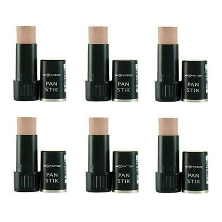 Max Factor Pan Stik Foundation #60 Deep Olive (Pack of 6) (Factor 6)