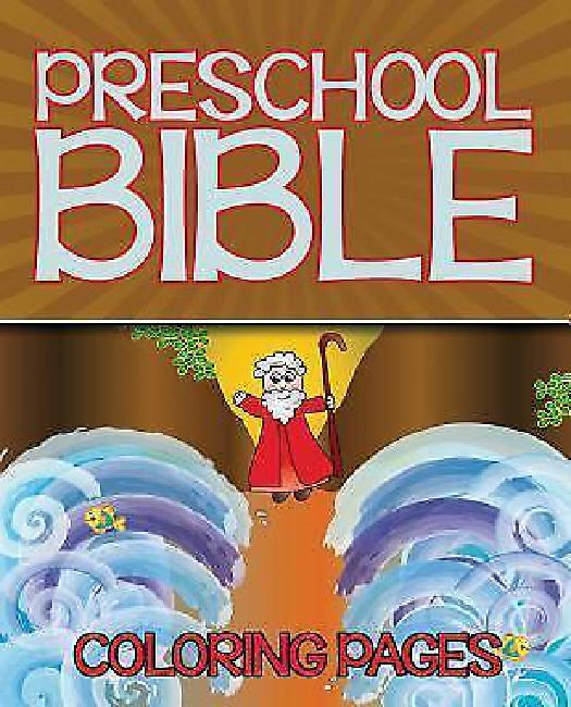Preschool Bible Coloring Pages by