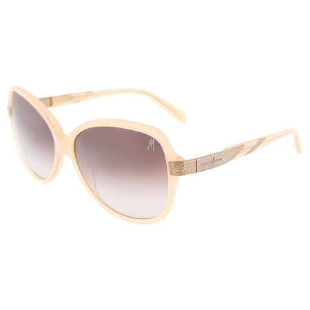 Guess by Marciano GM0696 BLSH-52 Blush Square (Blush Sunglasses)