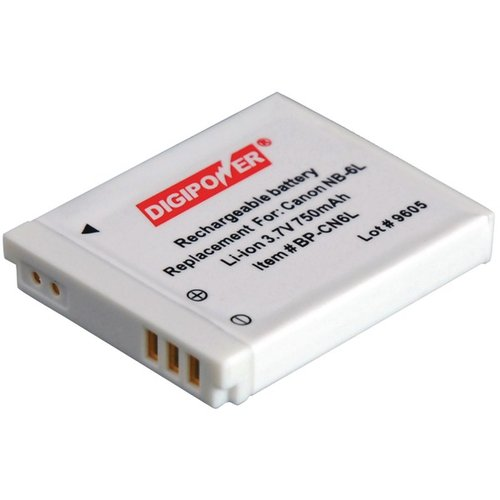 DIGIPOWER BP-CN6L Replacement Battery For Canon Nb-6L