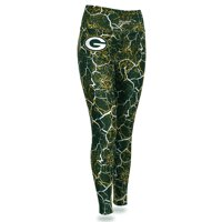 Green Bay Packers Zubaz Women's Marble Legging - Green/Gold