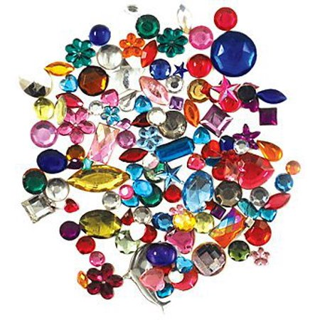 (Forever In Time Gemstone Embellishments, Assorted Shapes, Colors and Sizes, 30gm)