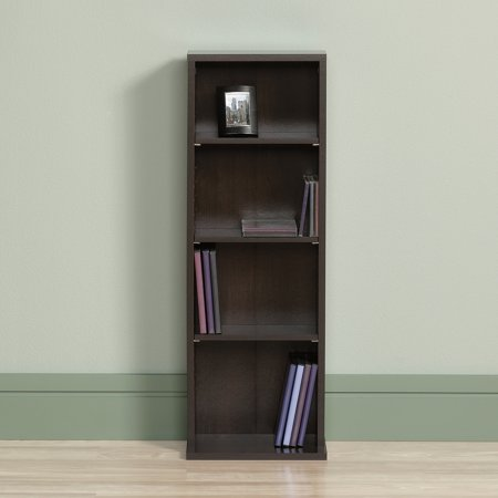 Sauder Beginnings Multimedia Storage Tower, Cinnamon Cherry