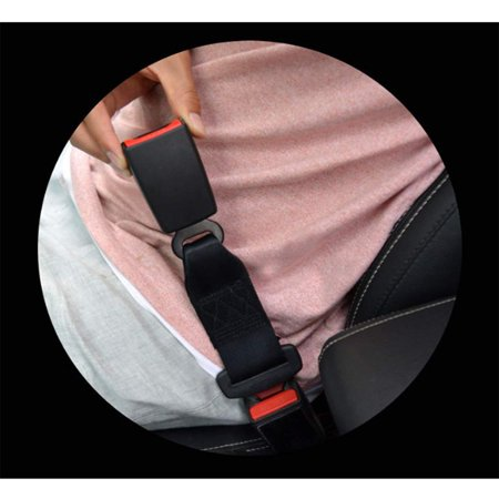 2 Pcs Safety Seat Extender, 7/8 Metal Tongue, Extender for Most Cars, Retractable Seat Belt Extension - image 4 of 5