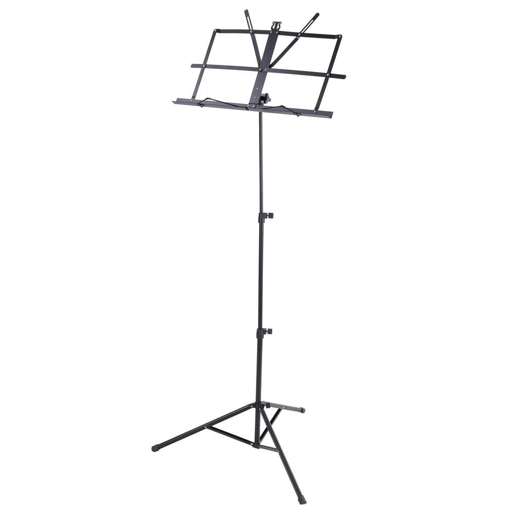 Sky Brand New Lightweight Adjustable Folding Music Stand with Carrying Bag-Black by
