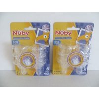 12 Non Drip Nipples - 2 Sets of 6 Packs (12 Nipples) By Nuby Ship from US